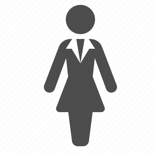 avatar, dress, female, people, user, woman icon