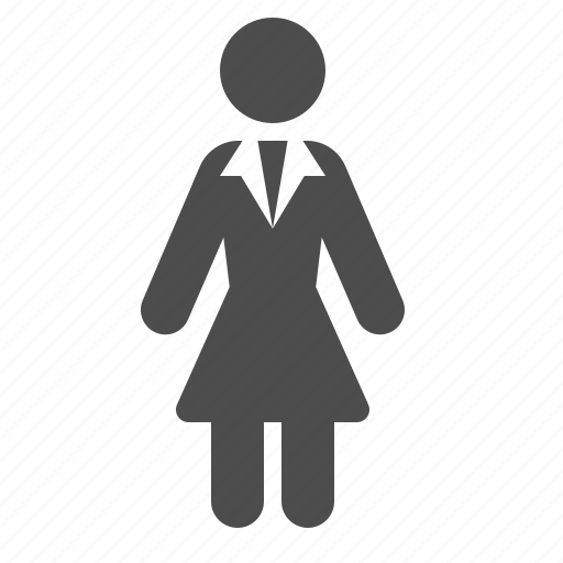 avatar, business, businesswoman, suit, woman icon