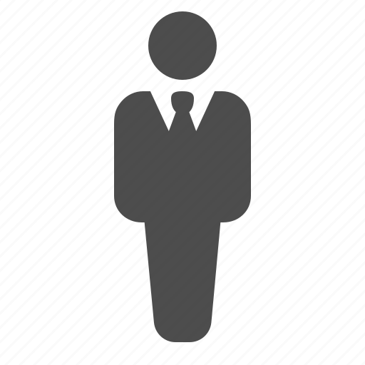 avatar, business, businessman, man, suit icon