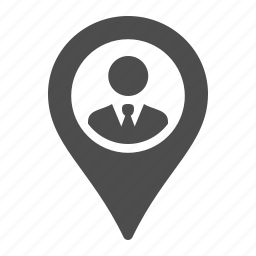 business, businessman, gps, location, marker icon