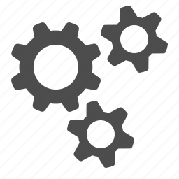 business, cog, cogs, gear, gears icon