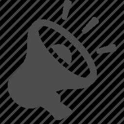 boss, bullhorn, business, loudspeaker, megaphone, office icon