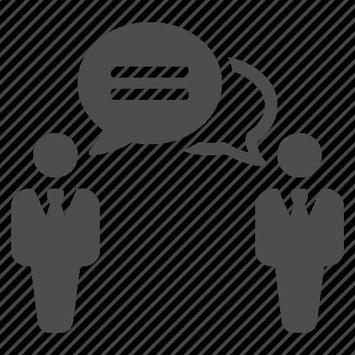 business, businessman, businessmen, chat bubble, man, speech bubble, talking icon