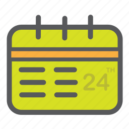 calender, day, month, schedule, time icon