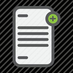 add, checklist, file, list, new, paper, star icon