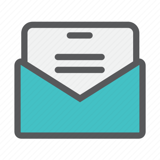 communicate, email, letter, mail, outbox icon