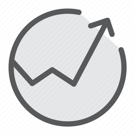 activity, analytics, anaylsis, positive, sales, trend, upward icon