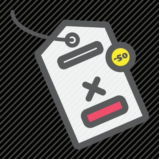 label, price, sticker, tag, value icon