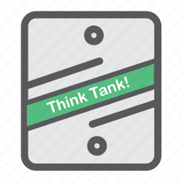 accelerator, ideas, tank, think icon