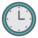 clock, day, tick, time, watch icon