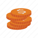 cash, coin, currency, dollar, finance, money, price icon