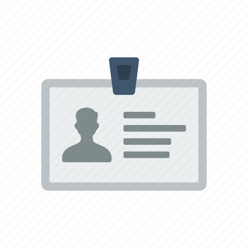 business, card, id, id card icon