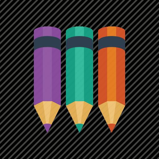 draw, pencil, pencils icon