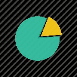 analytics, chart, diagram, graph, pie, statistics icon
