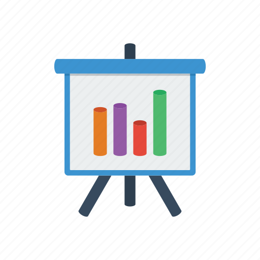 bar, chart, diagram, graph, powerpoint, presentation, statistics icon