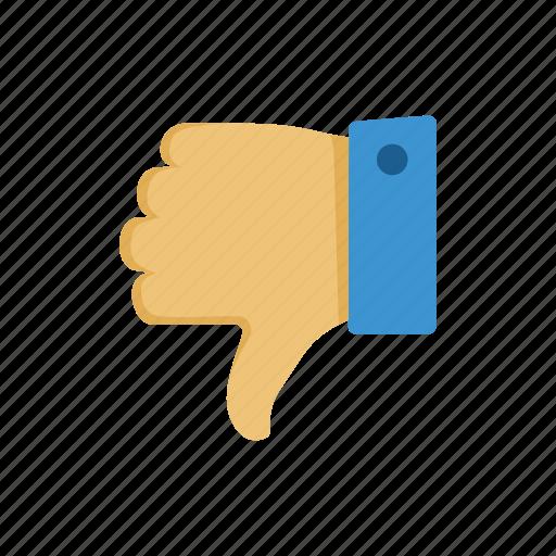 dislike, thumbs down, unlike icon