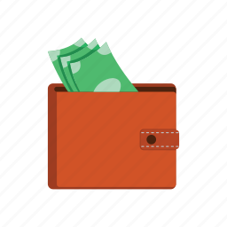 cash, money, shopping, wallet icon
