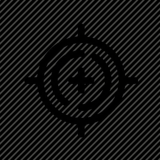 business, crosshair, focus, focus button, focus selector, target icon