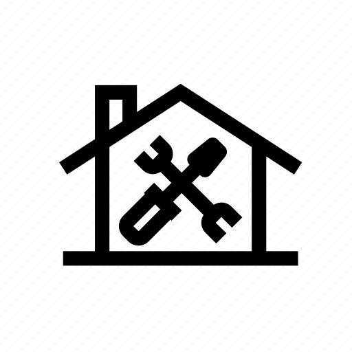 business, home, home repairs, house, repairs, service, tools icon