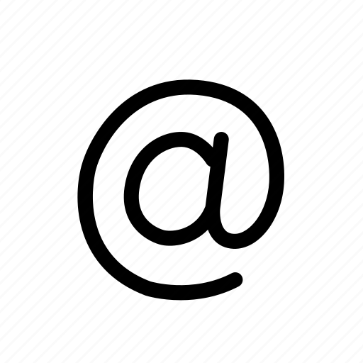 at, at sign, business, electronic mail, email, message icon