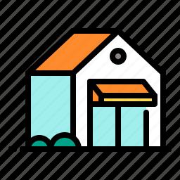 building, city, shop, store icon
