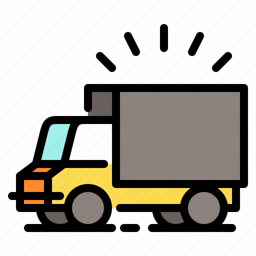 delivery, shipping, shopping, truck, vehicle icon