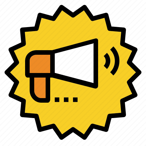Announcement, discount, marketing, megaphone, promotion icon - Download on Iconfinder