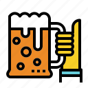 beer, celebration, cheers, thumbs, up icon