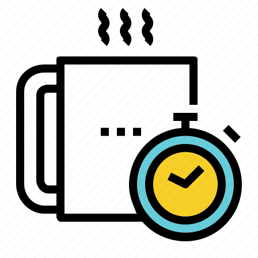 break, coffee, relax, rest, time icon