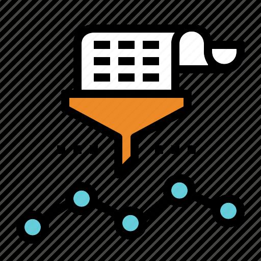 analysis, data, information, mining icon