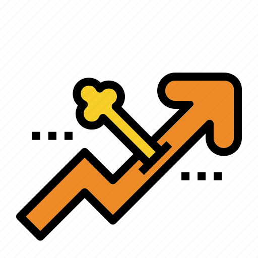business, growth, hacking, key, path, short icon