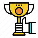 achievement, reward, success, trophy, winner icon