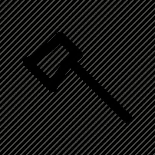 axe, cutlery, sharp, tool, weapon icon