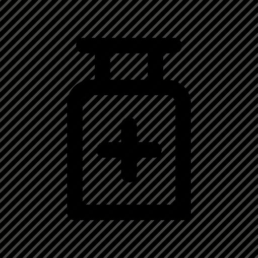 bottle, health, jar, medicine, treatment icon