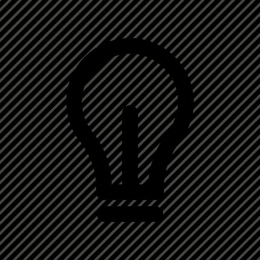 bulb, creativity, idea, light, source icon