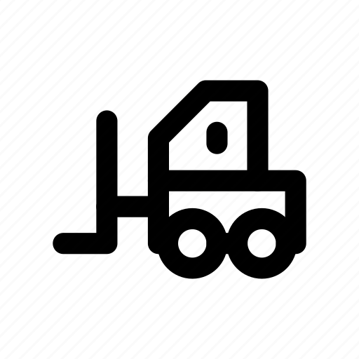 automobile, crane, forklifter, lifter, vehicle icon