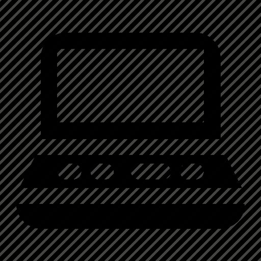 business, laptop, notebook, program icon