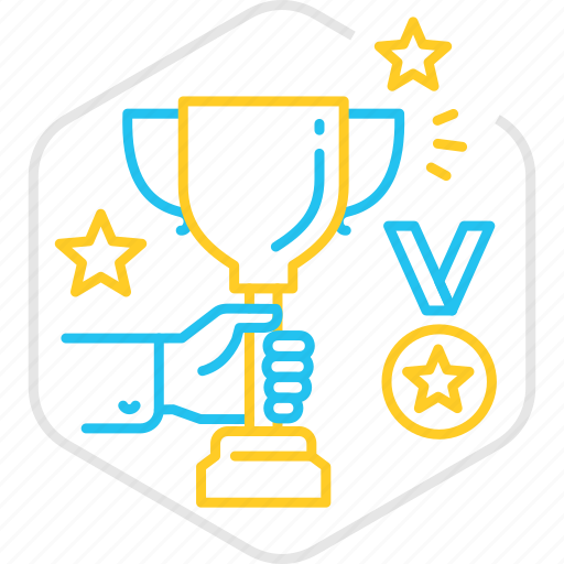 achievement, award, champion, competition, cup, trophy, winner icon