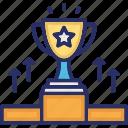 achievement, loyalty award, reward, success, trophy