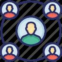 abilities, efficiency, personal development, skill, team icon