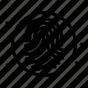 biometric, fingerprint, identification, identity card