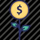 business, enhance, growth, money plant, profit