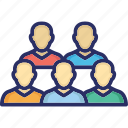 audience, employees, group, team, team relationship