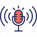 media, mic, microphone, podcast, text to speech