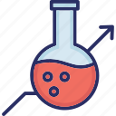 chemical, flask, lab flask, research, testing