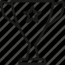 award, business, goal, innovation, marketing, success, trophy icon