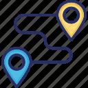 gps, map pin, navigation, positioning, travel