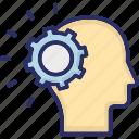 cog, head, mind, system thinking, thinking