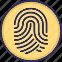 biometric, fingerprint, identity, scanning, sensor data