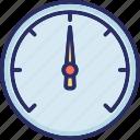 barometer, benchmarking, indicator, speedometer, time icon